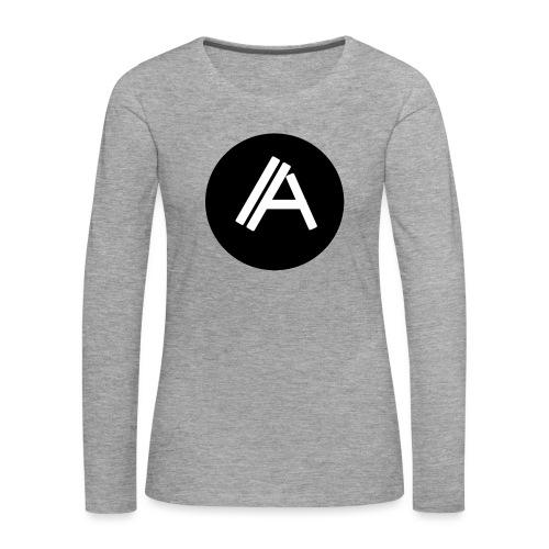 Logo Andyboy - Frauen Premium Langarmshirt