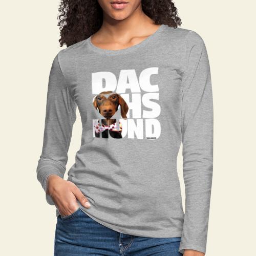 NASSU Mäyris LK Color - Naisten premium pitkähihainen t-paita
