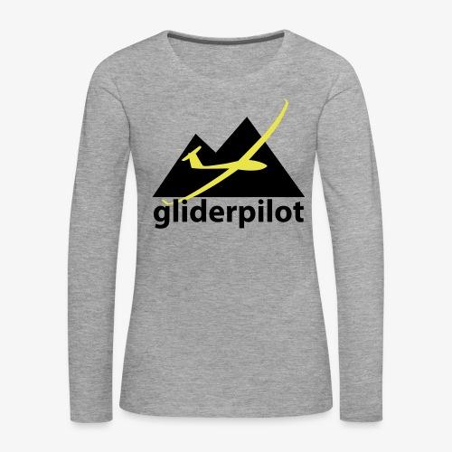 soaring-tv: gliderpilot - Frauen Premium Langarmshirt