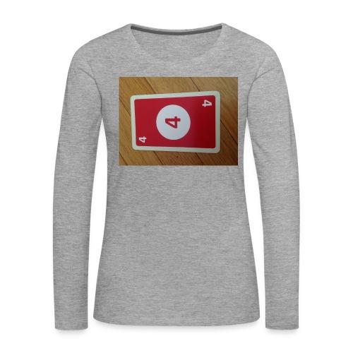 UNO - Frauen Premium Langarmshirt