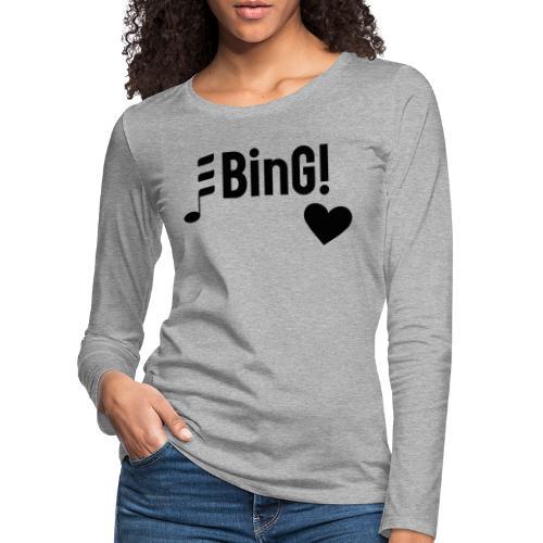BinG Love - Frauen Premium Langarmshirt