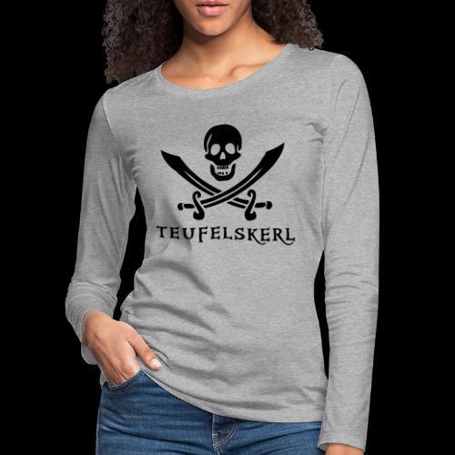 ~ Teufelskerl ~ - Frauen Premium Langarmshirt