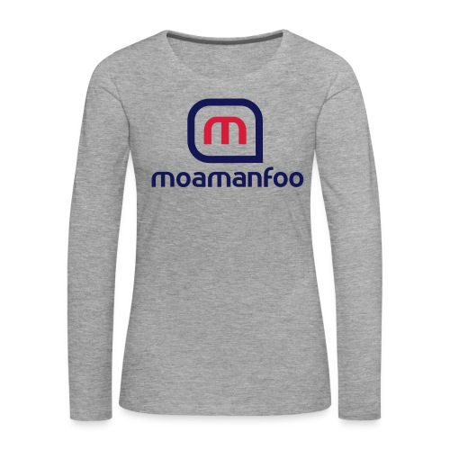 Moamanfoo - T-shirt manches longues Premium Femme