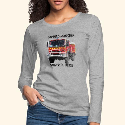 ccf sauver ou perir - T-shirt manches longues Premium Femme