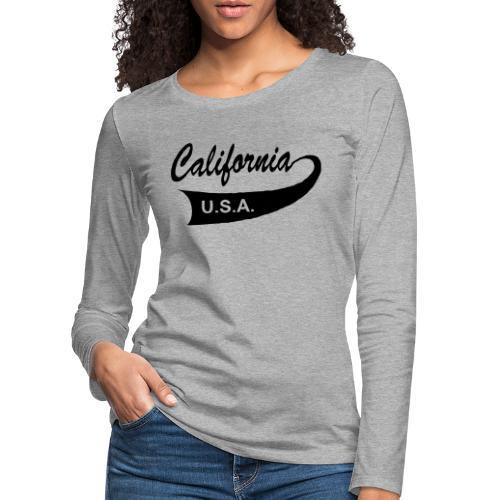 California USA - Frauen Premium Langarmshirt