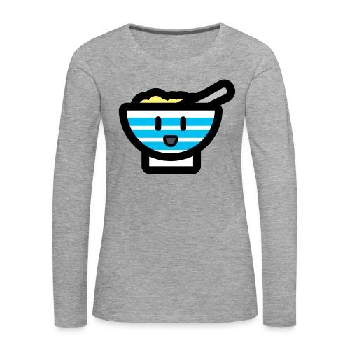 Cute Breakfast Bowl - Women's Premium Longsleeve Shirt