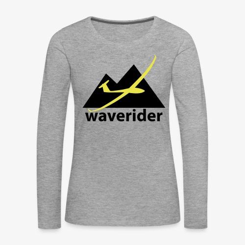 soaring-tv: waverider - Frauen Premium Langarmshirt