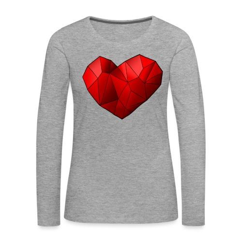 Heartart - Women's Premium Longsleeve Shirt