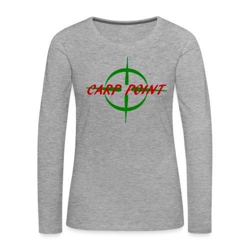 Carp Point T-Shirt - Frauen Premium Langarmshirt