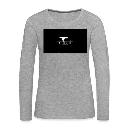 dino - Vrouwen Premium shirt met lange mouwen
