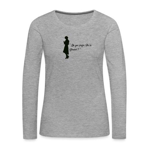 Queenie - T-shirt manches longues Premium Femme