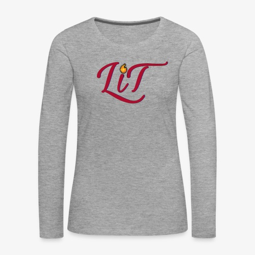 LiT CO Logo #1 - Women's Premium Longsleeve Shirt