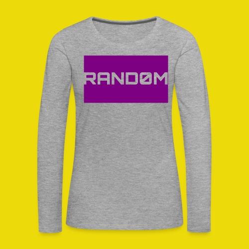 Random Logo - Women's Premium Longsleeve Shirt
