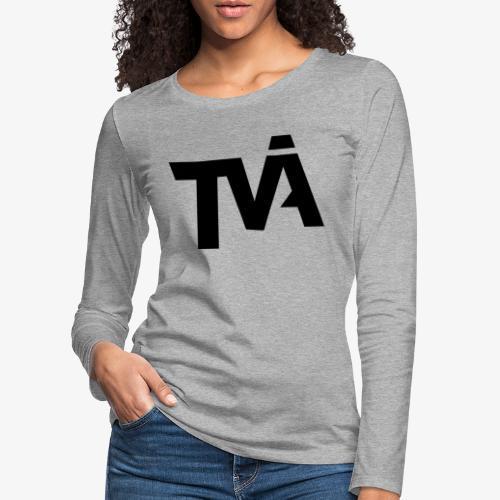 TVÅHUNDRA - Långärmad premium-T-shirt dam