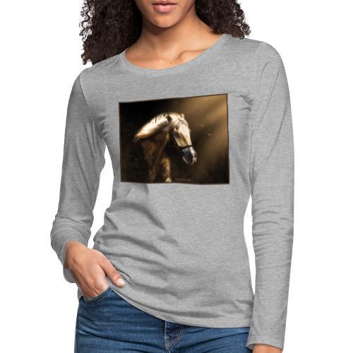 The Restless Stallion - Vrouwen Premium shirt met lange mouwen