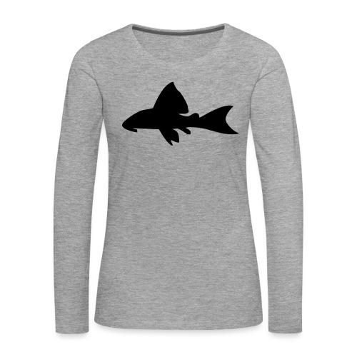 Malle - Premium langermet T-skjorte for kvinner