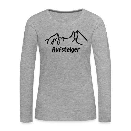 Bergsteiger Shirt - Frauen Premium Langarmshirt