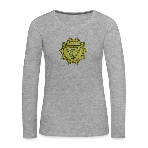 Manipura chakra - Frauen Premium Langarmshirt