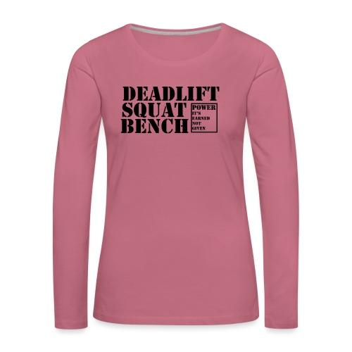 The Big 3 - Women's Premium Longsleeve Shirt