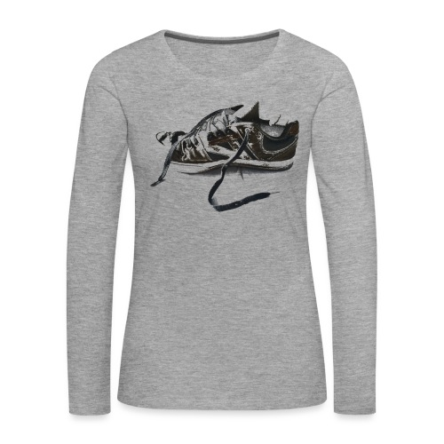 shoe (Saw) - Women's Premium Longsleeve Shirt