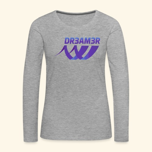 DR3AM3R - Naisten premium pitkähihainen t-paita