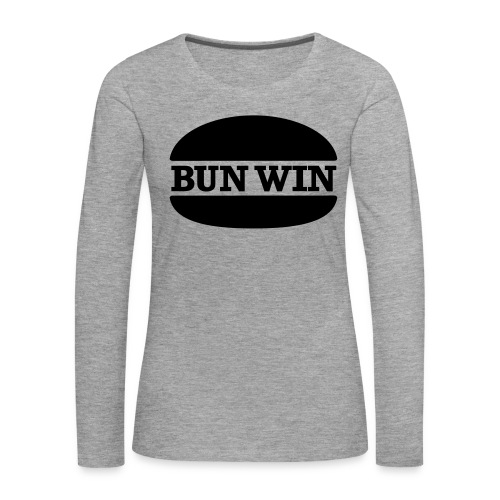 bunwinblack - Women's Premium Longsleeve Shirt