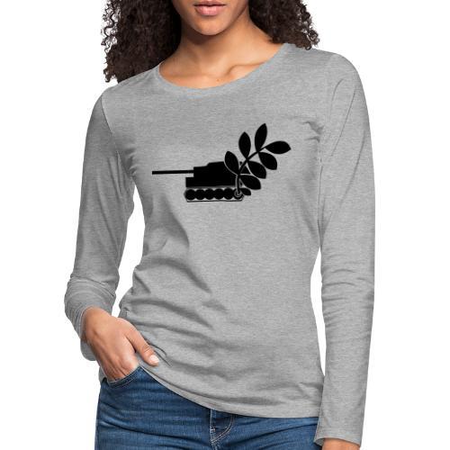 Global Campaign on Military Spending - Logo gray - Women's Premium Longsleeve Shirt