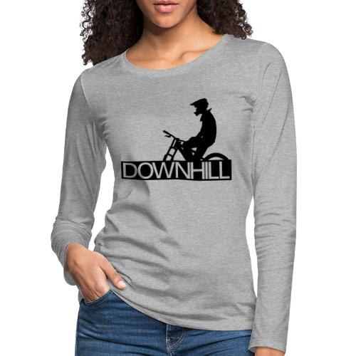 Downhill Biker - Frauen Premium Langarmshirt