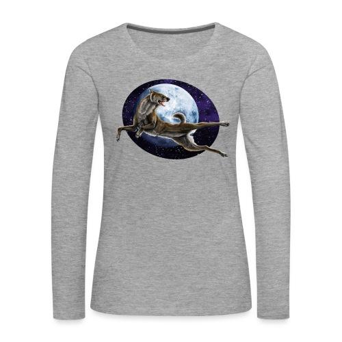 Galaxy Wolf - Frauen Premium Langarmshirt