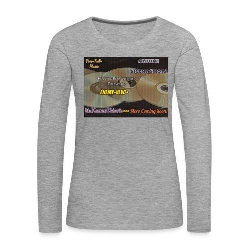 Enemy_Vevo_Picture - Women's Premium Longsleeve Shirt