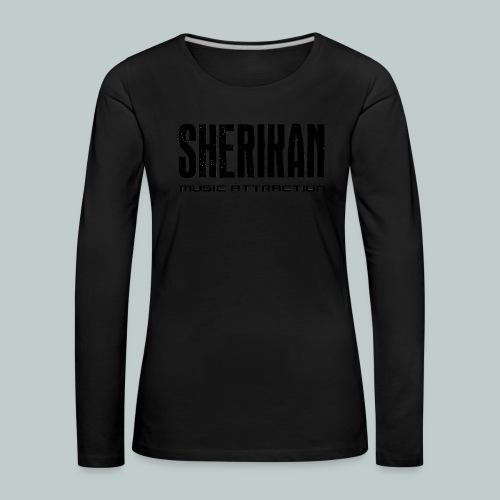 Sherikan - Långärmad premium-T-shirt dam