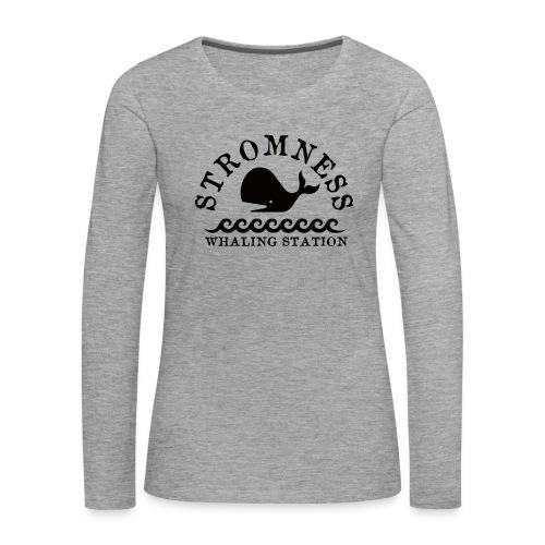 Sromness Whaling Station - Women's Premium Longsleeve Shirt