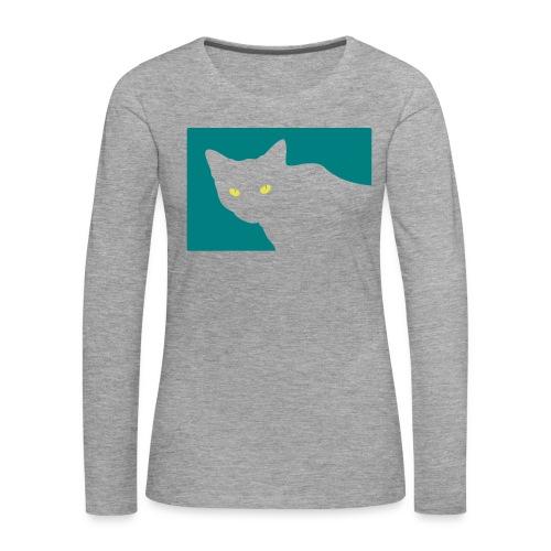 Spy Cat - Women's Premium Longsleeve Shirt