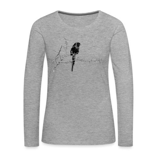 I like birds ll - Frauen Premium Langarmshirt