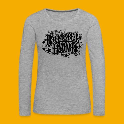 bb logo - Vrouwen Premium shirt met lange mouwen