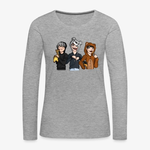 Team Potgrond - Vrouwen Premium shirt met lange mouwen