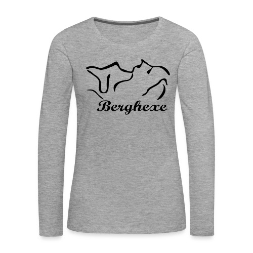 Berghexe Bad Reichenhall - Frauen Premium Langarmshirt