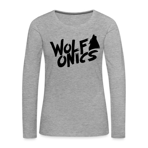 Wolfonics - Frauen Premium Langarmshirt