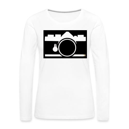 Vintage Camera - Maglietta Premium a manica lunga da donna