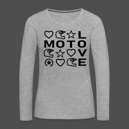 MOTOLOVE 9ML01 - Women's Premium Longsleeve Shirt