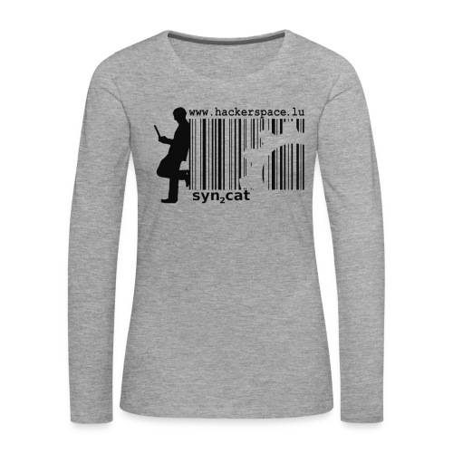 syn2cat hackerspace - Women's Premium Longsleeve Shirt