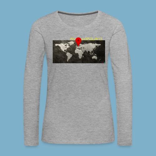 homeland my base - Frauen Premium Langarmshirt