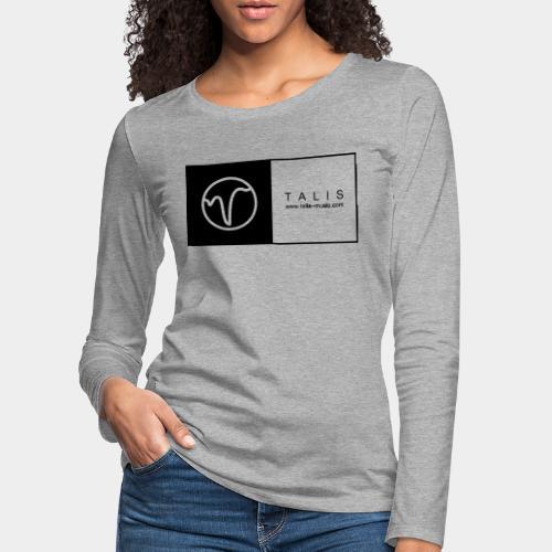 TALIS (2Quadrate) - Frauen Premium Langarmshirt