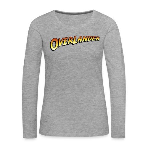 overlander0 - Premium langermet T-skjorte for kvinner