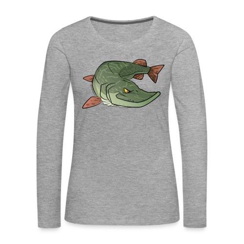 Red River: Pike - Women's Premium Longsleeve Shirt