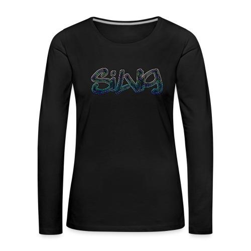 SilViG logo limited - Dame premium T-shirt med lange ærmer