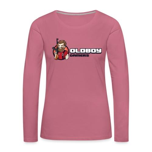 Oldboy Gamers Fanshirt - Premium langermet T-skjorte for kvinner