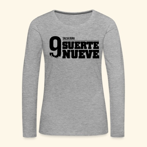 Logo Suerte - T-shirt manches longues Premium Femme
