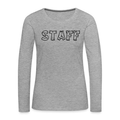 STAFF - Maglietta Premium a manica lunga da donna