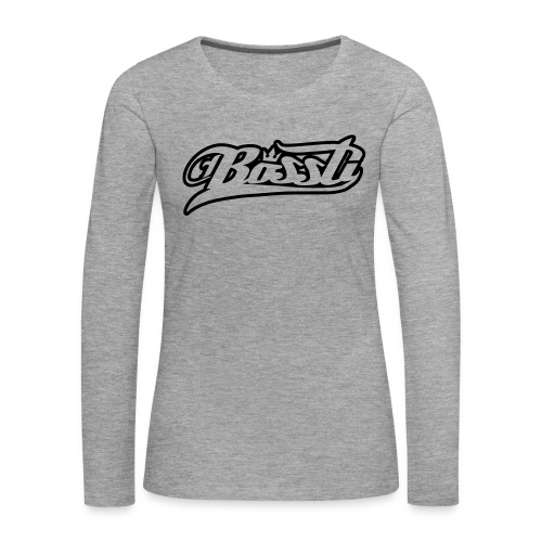 Bossti Hoodie - Frauen Premium Langarmshirt